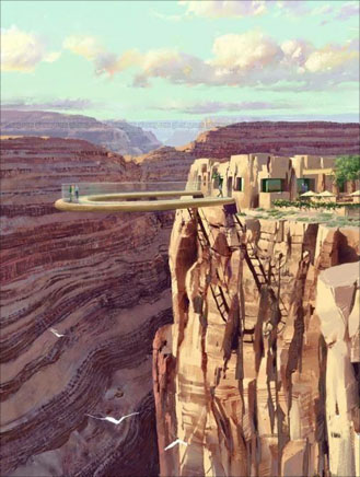 Grand Canyon Veiwing Platform