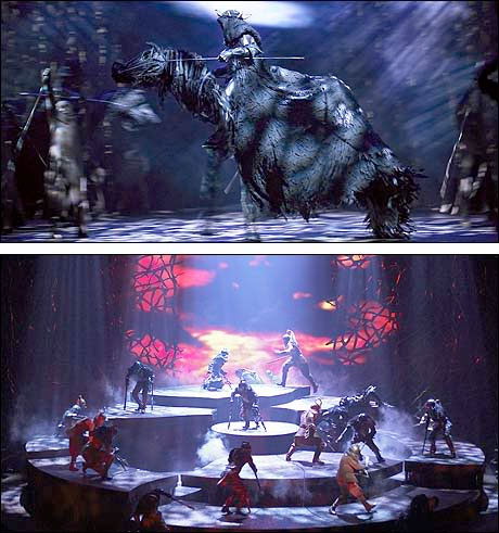 Scenes from The Lord of the Ring Musical
