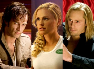Love triangle? Bill, Sookie and Eric of TrueBlood
