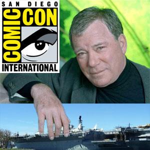 William Shatner at Comic Con Tonight