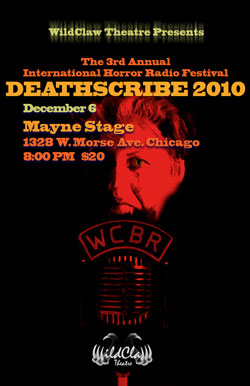 Deathscribe 2010: The Third Annual International Festival of Radio Horror Plays