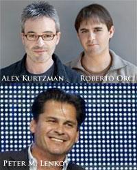 Alex Kurtzman, Peter M. Lenkov and Roberto Orci