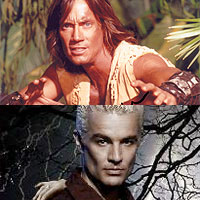 Kevin Sorbo and James Marsters