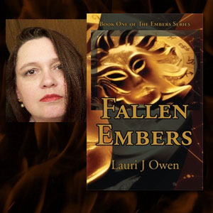 Lauri Owen author of Fallen Embers
