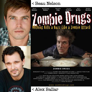 Beau Nelson and Alex Ballar of Zombie Drugs