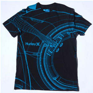 Hurley's TRON: Legacy collection T-shirt
