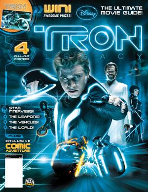 Tron: Legacy magazine