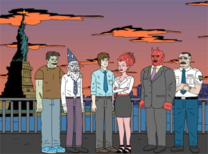 Ugly Americans on Comedy Central