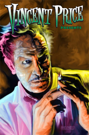 Bluewater Comics To Commemorate Vincent Price The Genre Traveler