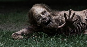 Zombie from AMC's The Walking Dead
