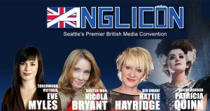 Anglicon 2018: The Women of British Media @ The DoubleTree by Hilton Seattle Airport Hotel