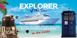 Sci-Fi Sea Cruise 2018 @ Royal Caribbean Line's Explorer Of The Seas