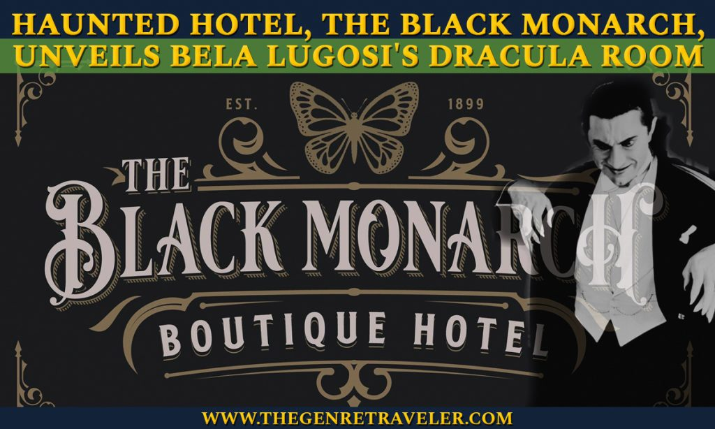 Haunted Bordello-Turned Boutique Hotel, The Black Monarch, Unveils Bela Lugosi's Dracula Room