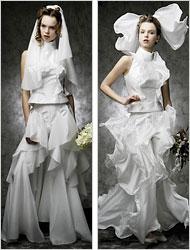 zero gravity wedding dress