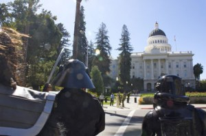 Sci Fi Fans March on Sacramento