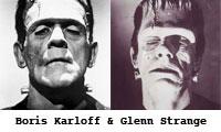 Boris Karloff and Glenn Strange