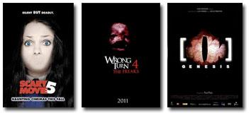 Scary Movie 5, Wrong Turn 4 and [REC] Génesis