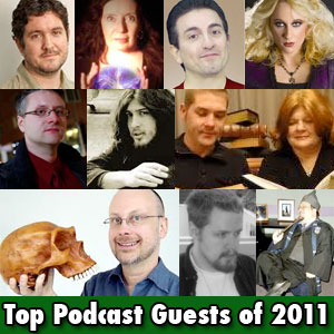 Top podcast guests of 2011
