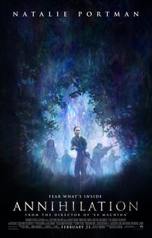 Annihilation movie poster 2018