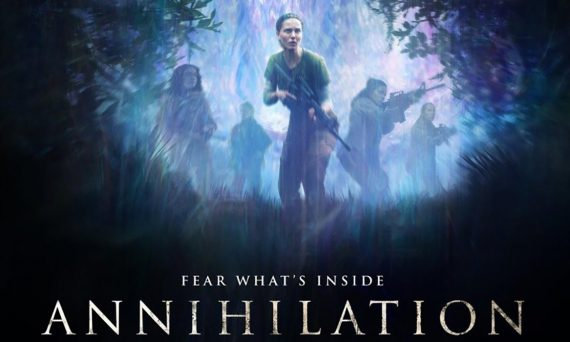 section of Annihilation movie poster 2018